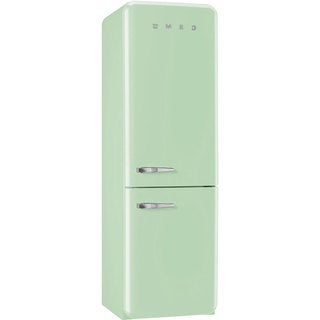 Smeg FAB32UPGLN 50s Style Bottom Freezer 11.7 Cubic Feet Pastel Green Right-hand Refrigerator