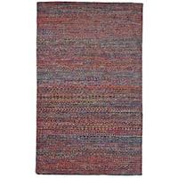"Grand Bazaar Cherry Hand Knotted Samarra Rug (5' 6 x 8' 6) - 5'-6"" x 8'-6"""