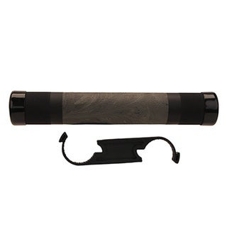 Hogue AR-15 Free Floating Overmolded Forend Rubber Grip Area, Ghillie Green