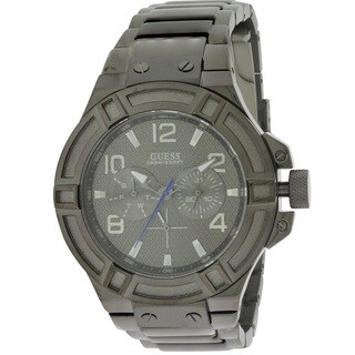 Guess W0218G1 Black Steel Men's Watch
