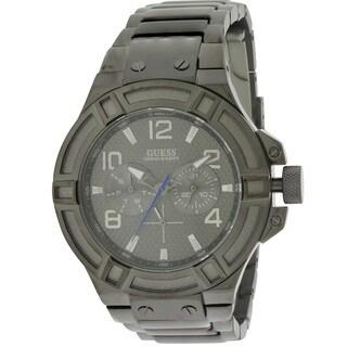 Guess W0218G1 Black Steel Men's Watch