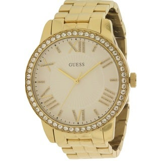 Guess Women's W0329L2 Gold-tone Watch