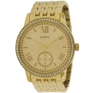 Guess Women's W0573L2 Gramercy Goldtone Watch