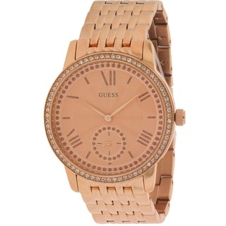 Guess Women's Rose Goldtone Watch W0573L3