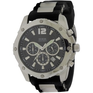 Guess Men's W0167G1 Silicone Watch
