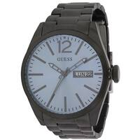 Guess Blue and Black Stainless Steel Men's Watch