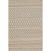 "Grand Bazaar Hasani Natural/ Ivory Area Rug - 7'9"" x 9'9"""