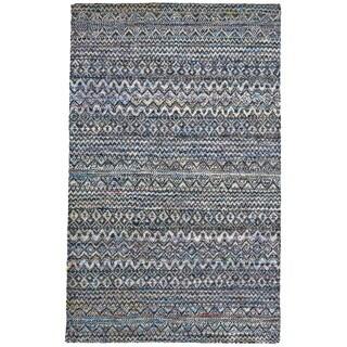 Grand Bazaar Hand-knotted Samarra Thundercloud Rug (7'9 x 9'9)