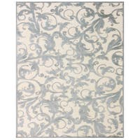 Grand Bazaar Pellaro 554R-3203 Cream / Silver Area Rug - 7'6 x 10'6