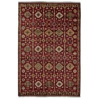 Grand Bazaar Kartum Red Area Rug - 2' x 3'