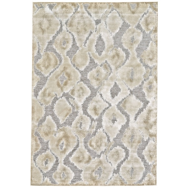 "Grand Bazaar Pellaro 554R-3250 Pewter / Gray Area Rug (2'2"" x 4') - 2'2 x 4'"