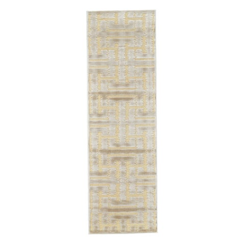 "Grand Bazaar Pellaro Cream/Ecru Runner (2'6"" x 8') - 2'6"" x 8'"