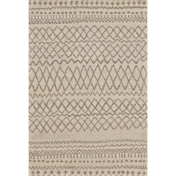 Grand Bazaar Hasani Natural/ Ivory Area Rug (2' x 3') - 2' x 3'