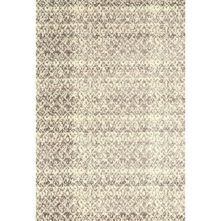 "Grand Bazaar Nahele 603R-3840 Cream/ Gray Area Rug (2'2"" x 4') - 2'2 x 4'"