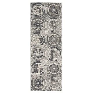 "Grand Bazaar Perry Stone Runner/ Tread (2'10"" x 7'10"") - 3' x 8'"