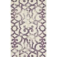 Grand Bazaar Marengo Violet Area Rug - 2' x 3'