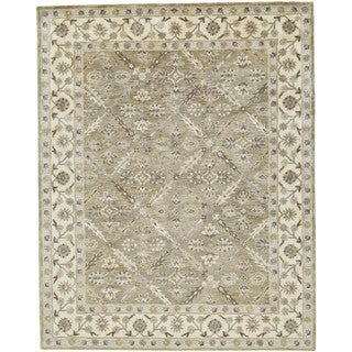 "Grand Bazaar Botticino Sage Runner/ Tread (2'6"" x 10') - 2'6 x 10'"