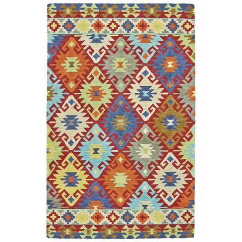 Hand Tufted Synthetic Area Rugs