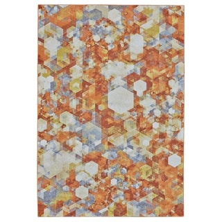 Grand Bazaar Undira Nectar Machine-made Rug (2'10 x 7'10) - 3' x 8'