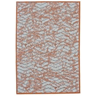 Grand Bazaar Undira Nectarine Machine-made Rug (2'10 x 7'10) - 3' x 8'