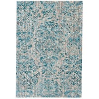 "Grand Bazaar Arsene Aqua Area Rug (2'2"" x 4') - 2'2 x 4'"