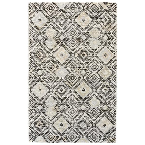 Grand Bazaar Binada Gray / Pastel Area Rug (2' x 3') - 2' x 3'