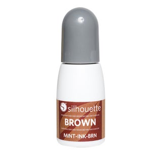 Silhouette Mint Ink .17oz-Brown