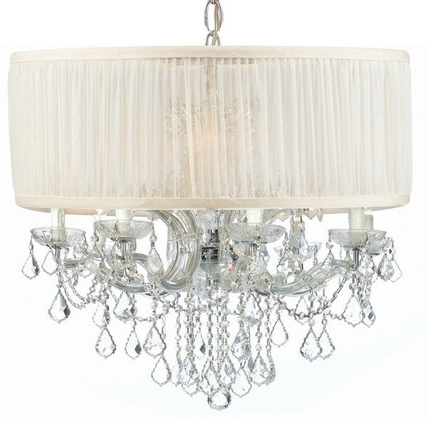 Strass Crystal Chandelier Crystorama brentwood collection 12 light polished chromeswarovski crystorama brentwood collection 12 light polished chromeswarovski elements strass crystal chandelier audiocablefo