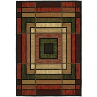 United Weavers Contours Ambience Terracotta Hand Carved Area Rug (12'6 x 15')