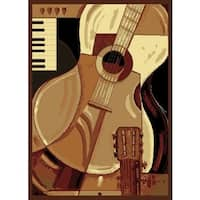 United Weavers Legends Guitar Area Rug - 3'3 x 4'11