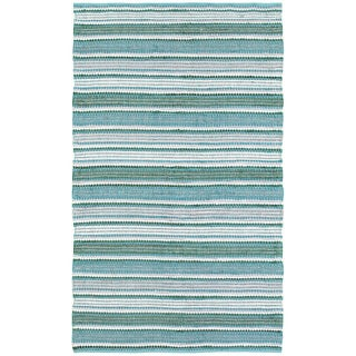 L and R Home Altair Reversible Green Indoor Area Rug (8' x 10') - 8' x 10'