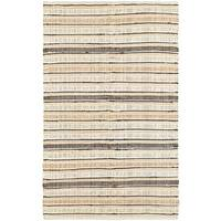 LR Home Hand Woven Altair Natural  Cotton Area Rug - 8' x 10'