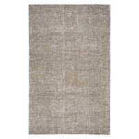 Hand-tufted Brindleton Brown Solid Wool Area Rug - 9' x 12'