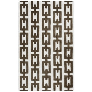 Hand-tufted Caterine Off White Wool  Area Rug ( 2' x 3' )