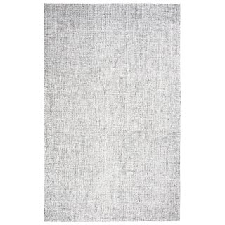 Hand-tufted Brindleton Grey Solid  Wool Area Rug  (9' x 12') - 9' x 12'