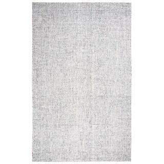 Rizzy Home Brindleton Grey Wool Hand Tufted Rug (5u0027 X ...