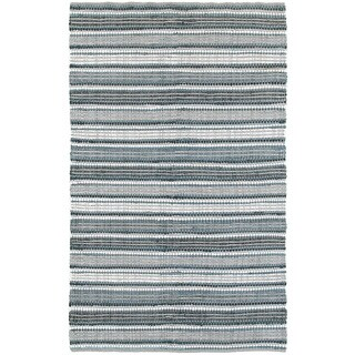 L and R Home Altair Reversible Grey Indoor Area Rug (8' x 10')