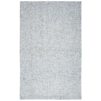 Hand-tufted Brindleton Blue Solid  Wool Area Rug  (8' x 10') - 8' x 10'