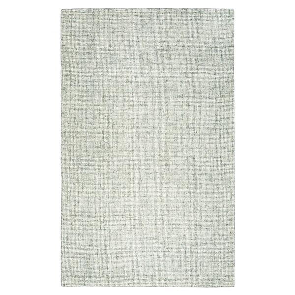 Hand-tufted Brindleton Green Solid Wool Area Rug (9' x 12')