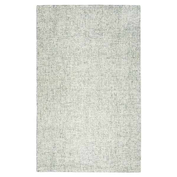 Hand-tufted Brindleton Green Solid Wool Area Rug (8' x 10') - 8' x 10'