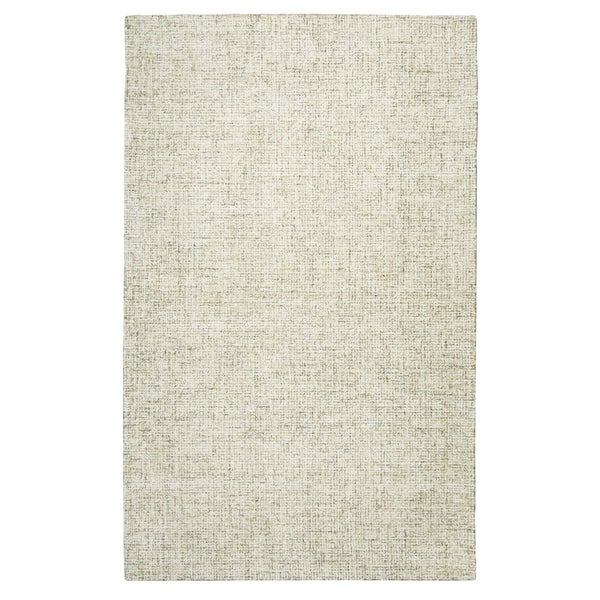Hand-tufted Brindleton Beige Solid Wool Area Rug (9' x 12') - 9' x 12'