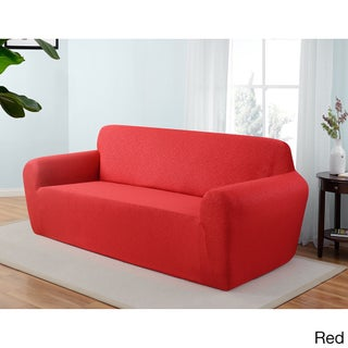 Stretch Jersey Scroll Sofa Slipcover (More options available)