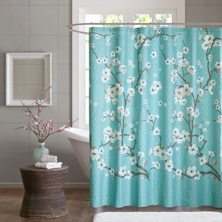 Purple, Floral Shower Curtains - Overstock.com - Vibrant Fabric ...