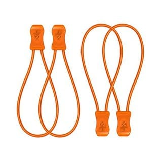 SnapLaces Performance No-Tie Shoe Laces in Orange