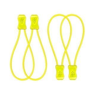 SnapLaces Performance No-Tie Shoe Laces in Neon Yellow