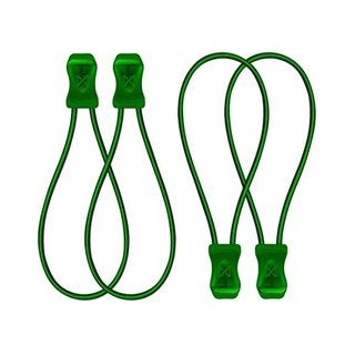 SnapLaces Performance No-Tie Shoe Laces in Green