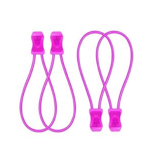 SnapLaces Performance No-Tie Shoe Laces in Pink