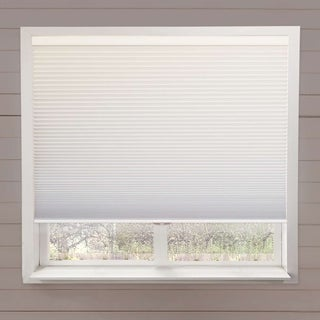 Chicology White Cordless Complete Blackout Honeycomb Cellular Shade