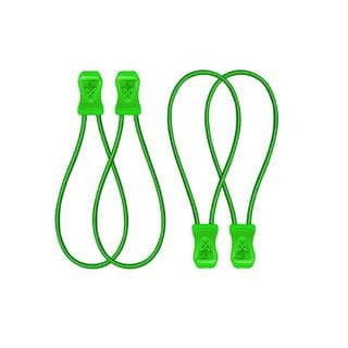SnapLaces Performance No-Tie Shoe Laces in Lime Green