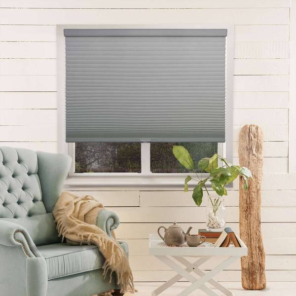 Shop Chicology Grey Light Filtering Privacy Cordless Honeycomb